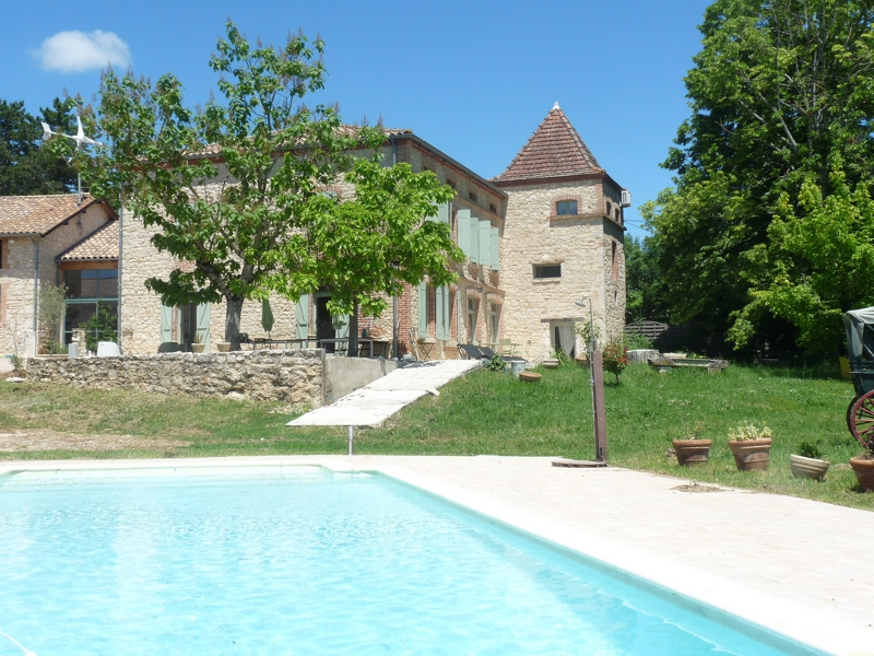 Magnifique maison en pierre Caussade2